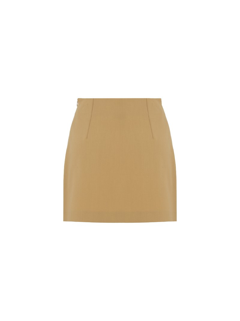 Miniskirt with side closure