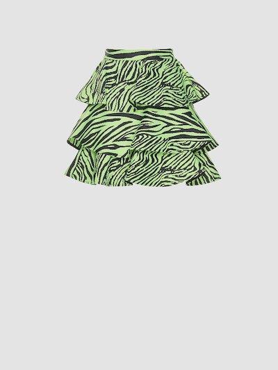 Fancy mini pleated skirt