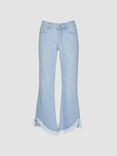 Jeans flared a trombetta