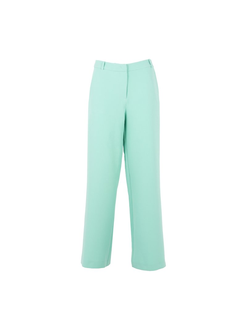 Wide trousers with pockets
