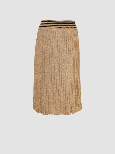 Midi-skirt in soft knit