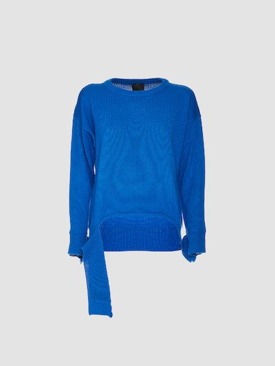 Asymmetrical oversize sweater
