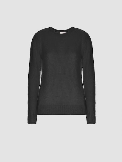Long-sleeved pullover bluette