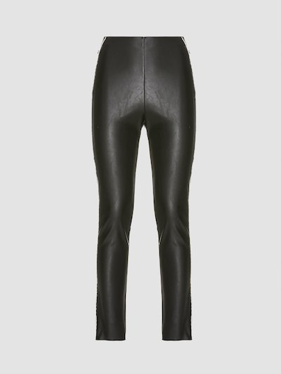 Leather effect leggings Jijil with applications