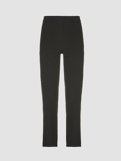 Long slim fit trousers