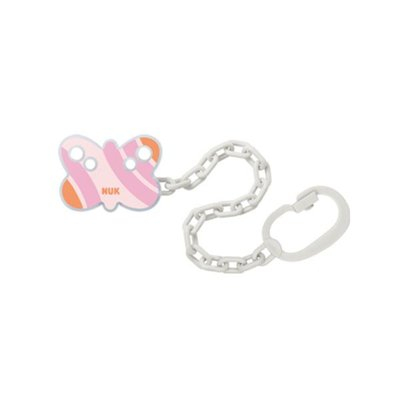 Nuk Soother Chain - Pink