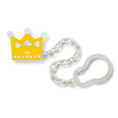 Nuk Soother Chain - Yellow