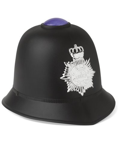 Light and Sound Policeman's Helmet