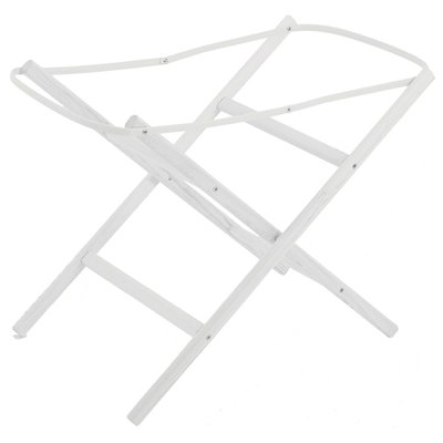 Baby Elegance Moses Basket Stand – White - Default