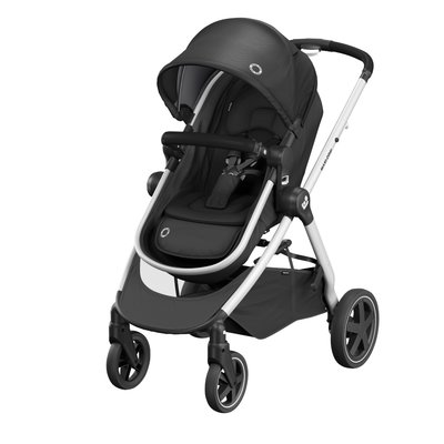 Maxi Cosi Zelia 2 2-in-1 Pushchair - Essential Black