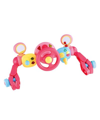 Lights and Sounds Buggy Driver - Pink