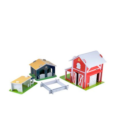 Wooden Farm Play Set