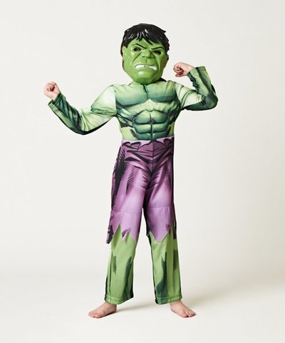 Marvel Avengers Hulk Dress Up (Age 3-4 years)
