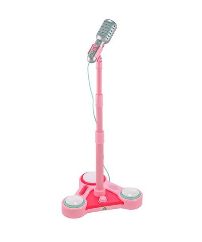 Sing Along Star Microphone - Pink