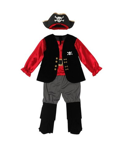 Pirate Captain Outfit 3yrs+