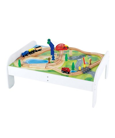 Big City Lifting Bridge Rail Play Table