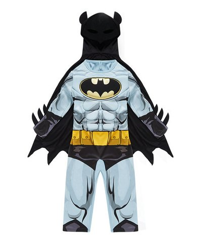 Batman Dress Up 3-4yrs Costume with Mask