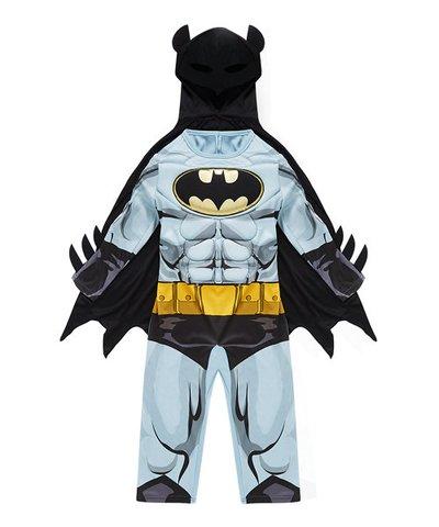 Batman Dress Up 3-4yrs Costume with Mask