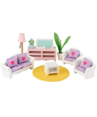 Rosebud Luxury Living Room Set