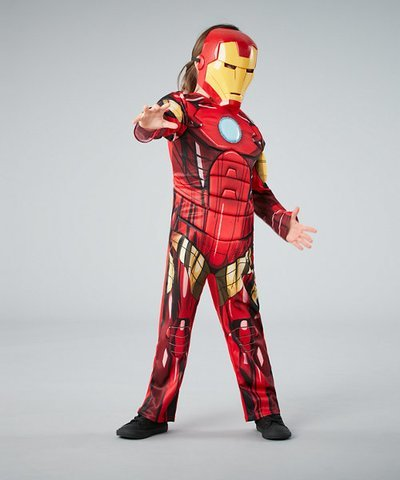 Marvel Avengers Iron Man Dress Up - age 3-4 years