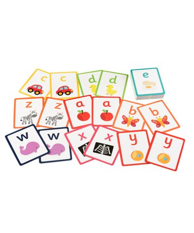 ELC Alphabet Pairs Cards Lower Case