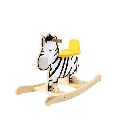 ELC Wooden Rocking Zebra