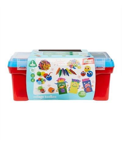 ELC Blue Collage Toolbox