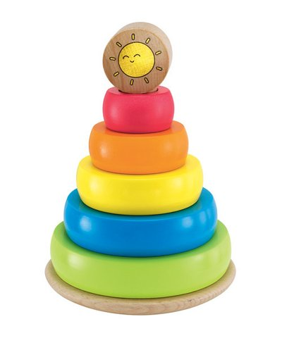 elc wooden stacking rings