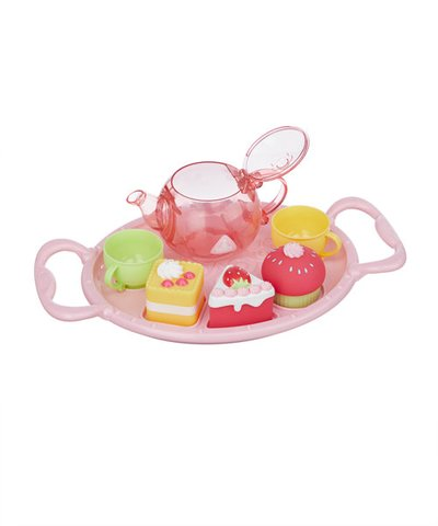 Pink Bath Time Tea Party Set