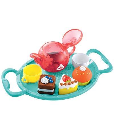 Blue Bath Time Tea Party