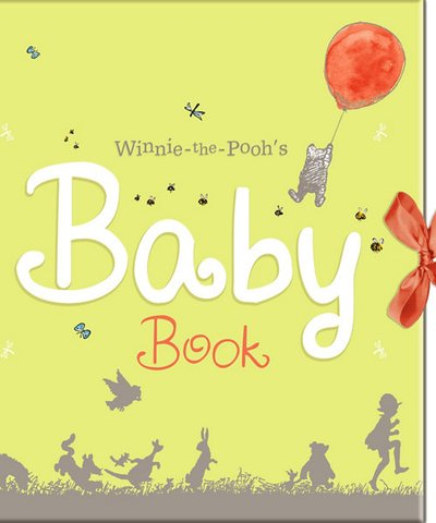 winnie the pooh's baby book