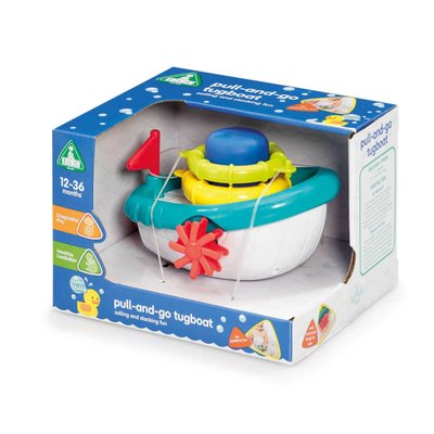 ELC Bathtime Pull and Go Tug Boat