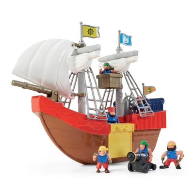 elc pirate ship and figures playset