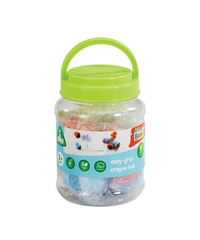 elc easy-grip five crayons tub