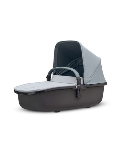 Quinny Hubb Hux Carrycot - Grey on Graphite
