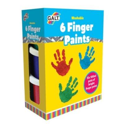 Galt 6 Finger Paints
