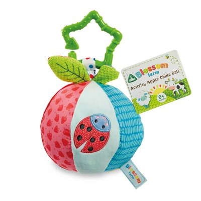 ELC Blossom Farm Activity Apple Chime Ball