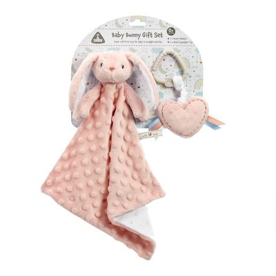 Early Learning Centre Baby Pink Bunny Gift Set