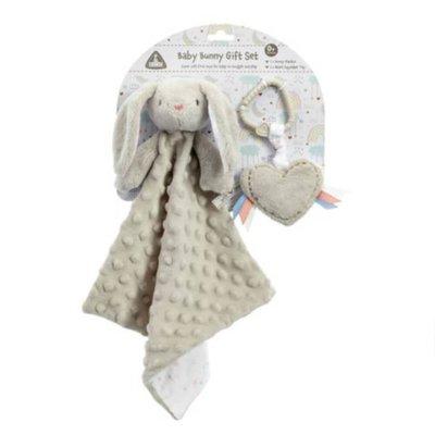 ELC Baby Grey Bunny Gift Set
