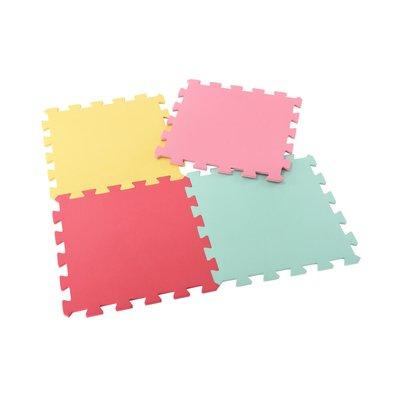 ELC  Rec Mats 4 Pack Pink