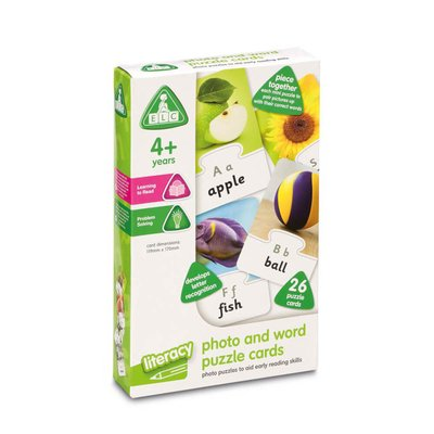 ELC Photo and Word Puzzle Cards