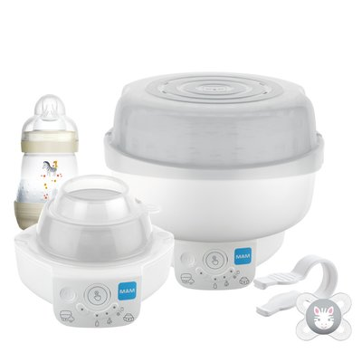 MAM Electric Steriliser and Express Bottle Warmer