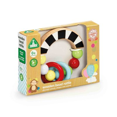 ELC Wooden Bead Rattle