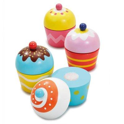 ELC Wooden Cupcake Set