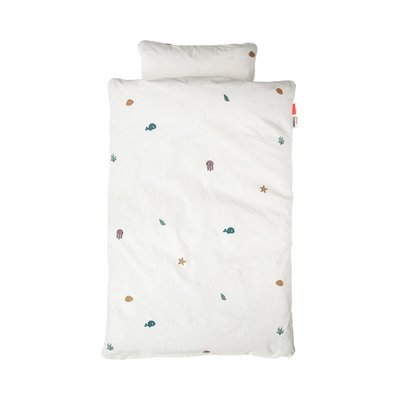 Done by Deer 100x140cm Junior Bed Linen - Sea Friends