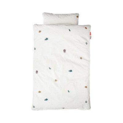 Done by Deer 100x140cm Junior Bed Linen - Sea Friends