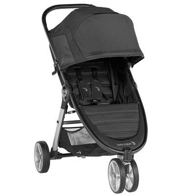 Baby Jogger City Mini 2 Pushchair 3 Wheeler - Jet - Default