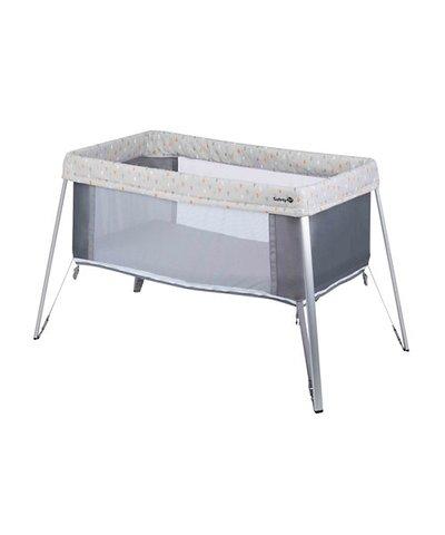 Safety 1st Globe Dreamer Crib - Warm Grey
