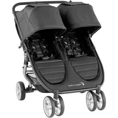 Baby Jogger City Mini 2 Double Pushchair - Jet