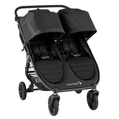 Baby Jogger City Mini GT2 Double Pushchair - Jet